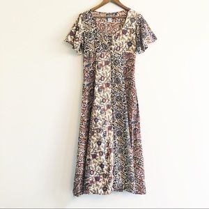 Quicksilver Roxy | floral button down maxi dress